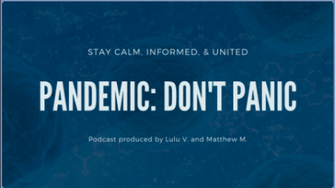 Pandemic: Don't Panic a podcast story