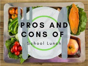 Pros and Cons of School Lunches