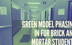 Green Model Phasing in for Brick and Mortar Students