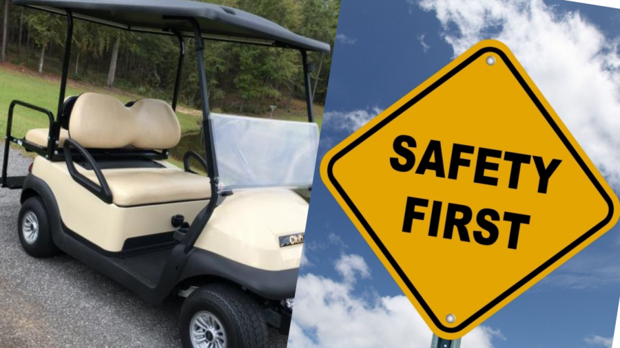 Golf+cart+sales+and+safety+in+Peachtree+City+during+the+COVID-19+restrictions.