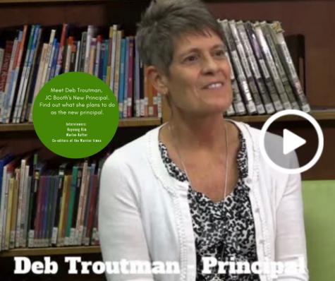 Meet Deb Troutman the new principal at Booth.